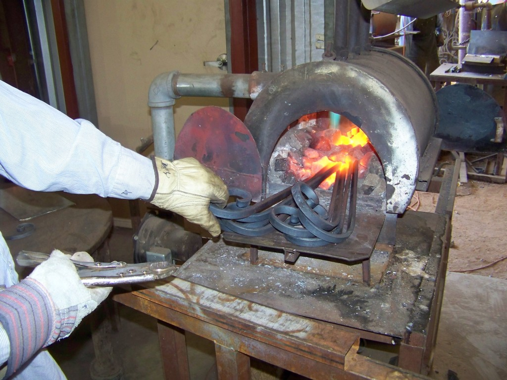 Ironworker Heating Iron
