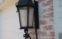 Scrolled Exterior Light Fixture EL8180
