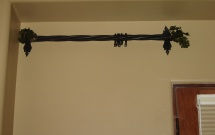 Grape Vine Curtain Rod CR3025