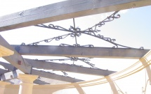 Decorative Iron For Pergola or Trusses BT2022